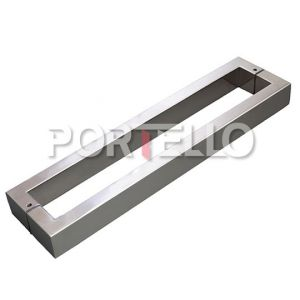 Puxador para Porta Inox H40 geris