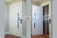 jom porta pivotante elevador laca branca 1512